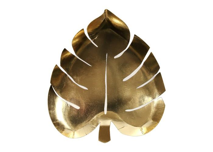 MeriMeri Тарелки Пальмовый лист