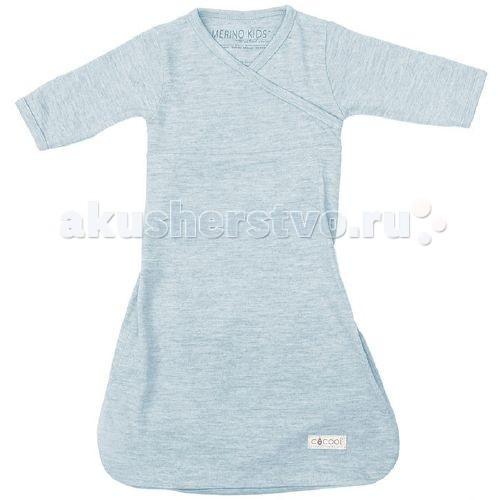 Детская одежда , Пижамы и ночные сорочки Merino Kids Ночная сорочка Cocooi арт: 46935 -  Пижамы и ночные сорочки