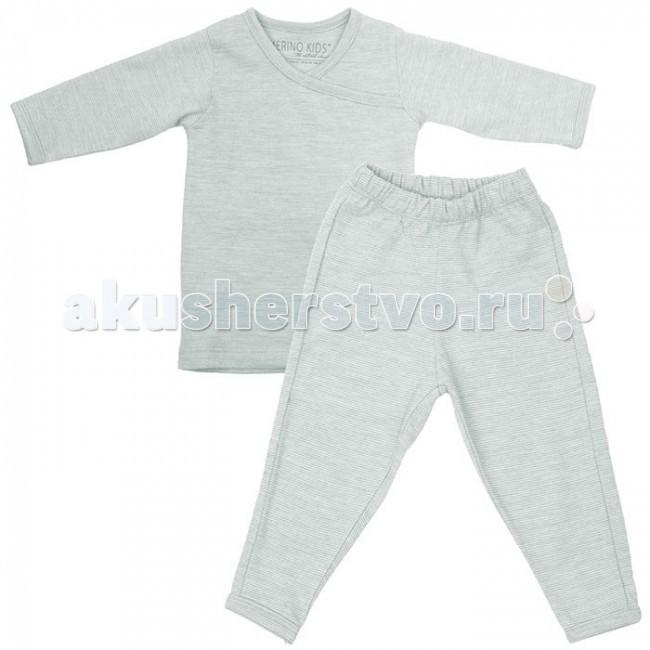 Детская одежда , Пижамы и ночные сорочки Merino Kids Пижама из шерсти мериноса арт: 46922 -  Пижамы и ночные сорочки