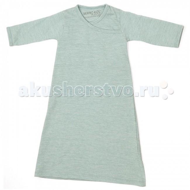 Детская одежда , Пижамы и ночные сорочки Merino Kids Сорочка ночная 3-12 мес арт: 46937 -  Пижамы и ночные сорочки