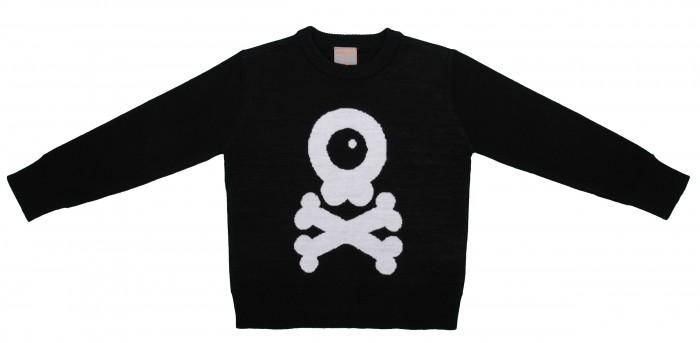 Джемперы, свитера, пуловеры Merri Merini Джемпер вязаный Веселый Череп джемперы cudgi джемпер