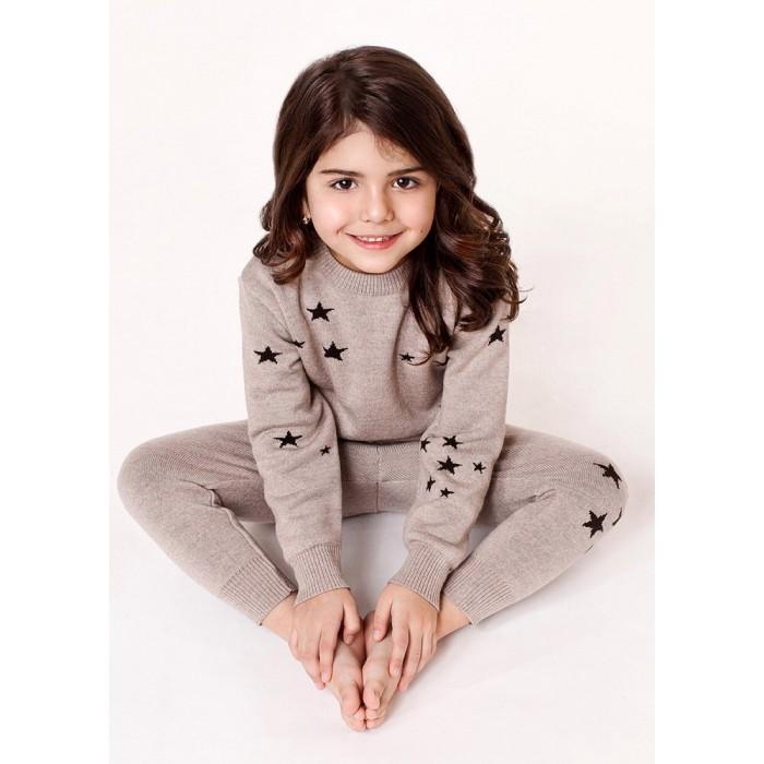 Детская одежда , Джемперы, свитера, пуловеры Merri Merini Джемпер вязаный Звезды арт: 423899 -  Джемперы, свитера, пуловеры