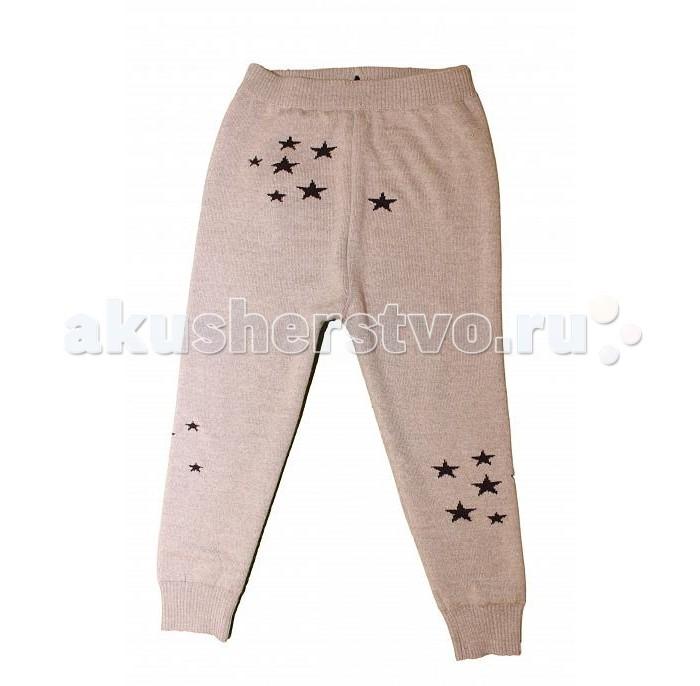 Детская одежда , Брюки, джинсы и штанишки Merri Merini Леггинсы вязаные Звезды арт: 423904 -  Брюки, джинсы и штанишки