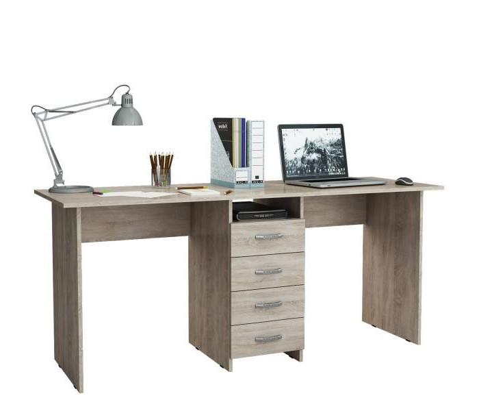 Детские столы и стулья, MF Master Стол письменный Тандем-2  - купить со скидкой
