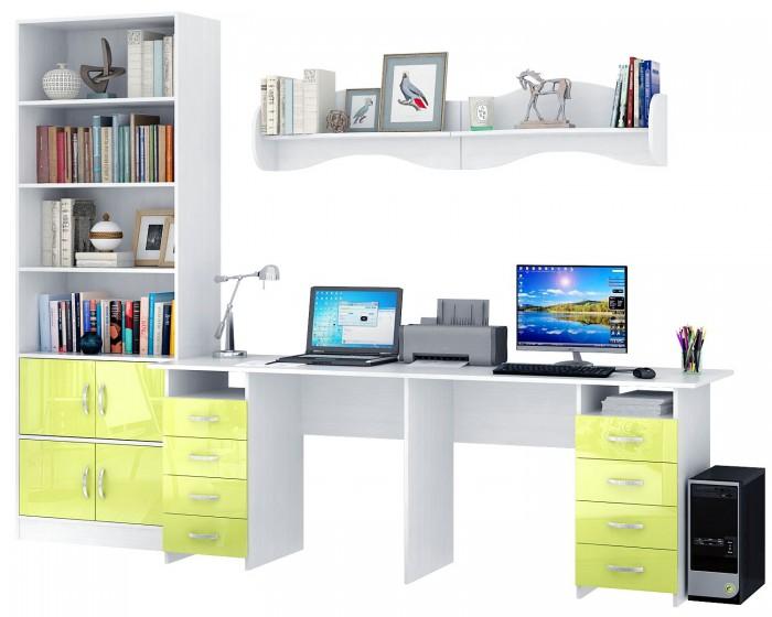 Купить Детские столы и стулья, MF Master Уголок школьника Тандем УШ-3-02 Глянец (каркас белый)