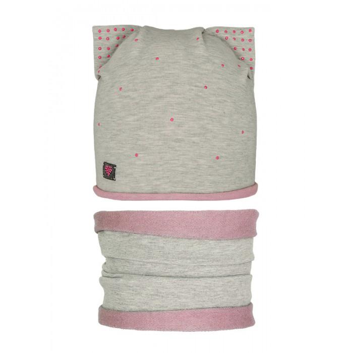 Шапки, варежки и шарфы Mialt Комплект Баловница (шапка и шарф)