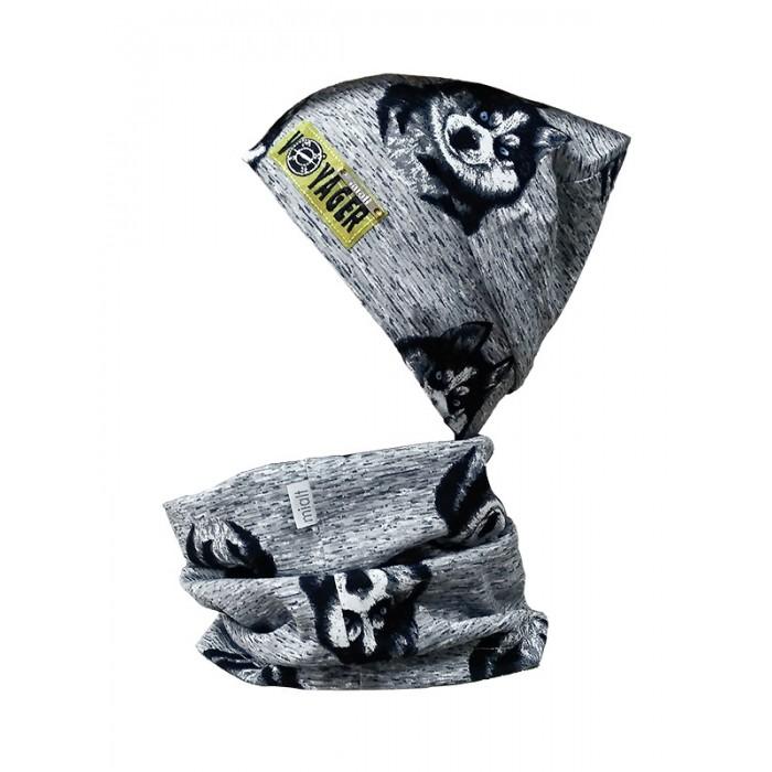 Шапки, варежки и шарфы Mialt Комплект Клык (шапка и снуд) шапочки и чепчики premont шапка шарф снуд w47301