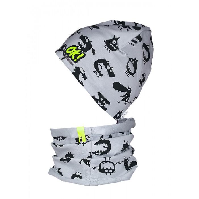 Шапки, варежки и шарфы Mialt Комплект Зубастик (шапка и снуд) шапочки и чепчики premont шапка шарф снуд w47301