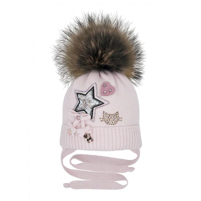 Шапки, варежки и шарфы Mialt Шапка для девочки Фейерверк