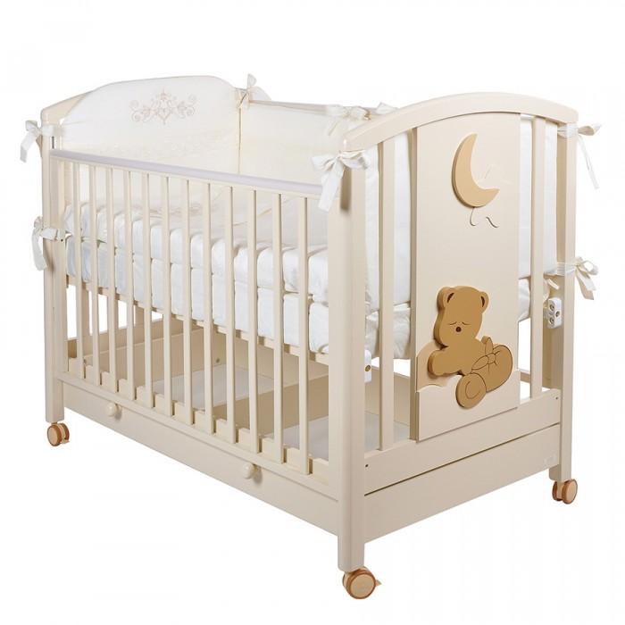 Детская кроватка MIBB Babi колесо качалка