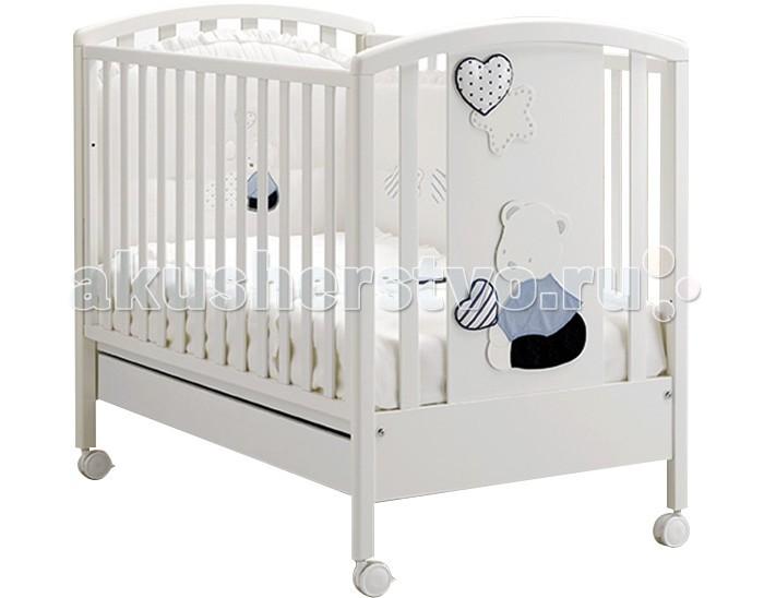 Детская мебель , Детские кроватки MIBB Stellina арт: 7424 -  Детские кроватки