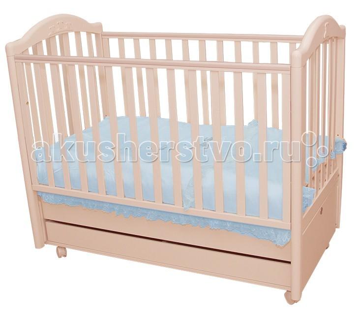 Детские кроватки MIBB Tender продольный маятник