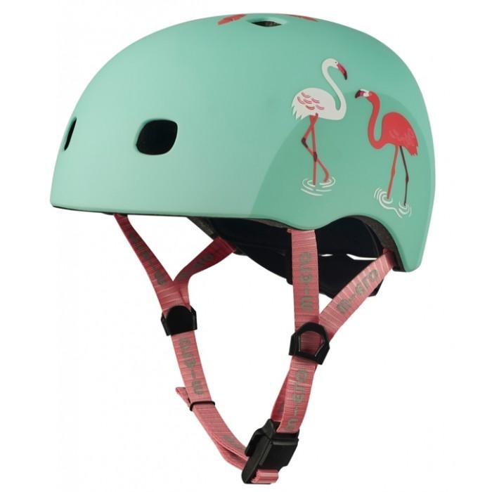 Шлемы и защита Micro Шлем защитный Box Фламинго шлемы и защита runbike защитный шлем action pro