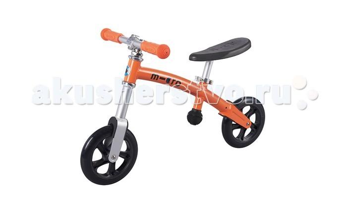 Беговел Micro G-Bike+ LightG-Bike+ LightЛучший способ научить малыша держать равновесие и ездить на велосипеде - это G-bike! G-bike+ Light очень легкий и очень прочный велосамокат. Сидение и руль регулируются в зависимости от роста ребенка.  G-Bike+ Light – это великолепный велосамокат, который специально создан в помощь самым юным спортсменам. Безопасный и легкий, прочный и долговечный G-Bike научит ваших детей держать равновесие и управлять им, как взрослым велосипедом. Дети очень быстро приобретают уверенность, отталкиваясь ногами и балансируя на G-Bikе+.  Рама Micro G-Bike+ Light сделана из легкого алюминиевого сплава, и примерно в два раза легче аналогичных моделей других производителей (вес G-bike+ всего 3 килограмма), поэтому его легко транспортировать и можно даже просто положить поверх коляски, выходя на прогулку.  Прекрасное сочетание стильного швейцарского дизайна с практичностью, G-Bike+ обладает регулируемым гладким черным сидением и сочетающимися с ним ручками управления. И, так как безопасность всегда является главным отличием продуктов бренда Micro, G-Bike оснащен 200 мм колесами, обеспечивающими супер-устойчивость, маневренность и плавный ход.  Высота сиденья: 37-47 см. Высота руля: 51-54 см. Колеса: 200 мм Подшипники: ABEC 5<br>