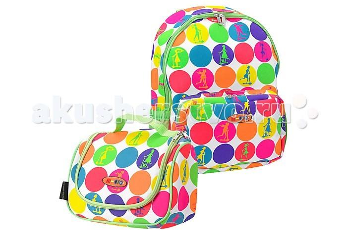 Micro Рюкзак + сумка для самокатов Maxi Rucksack &amp; LunchbagРюкзак + сумка для самокатов Maxi Rucksack &amp; LunchbagЯркий рюкзак для самоката Maxi Micro с сумочкой для завтраков/обедов (ланчбокс)  Изделия изготовлены из прочного синтетического материала, устойчивого к загрязнениям, влаге и дорожной пыли.   Сумочка снабжена удобной ручкой для переноски и креплением на самокат.   Рюкзак при желании может крепится на ручку самоката на липучках.  Размер рюкзака 30х45 см<br>