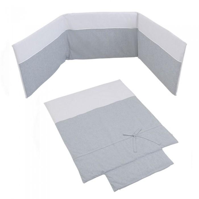 Купить Комплекты в кроватку, Комплект в кроватку Micuna Покрывало и бортики Nature 120x60