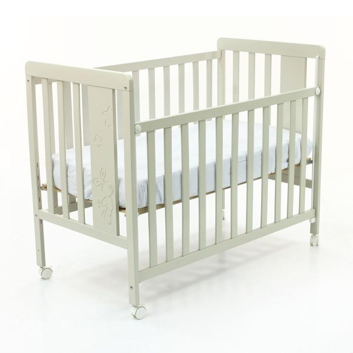 Детская кроватка Micuna Rabbit с матрасом СН-620Rabbit с матрасом СН-620Детская кроватка Micuna Rabbit с матрасом СН-620 изготавливается из экологически чистых материалов.   Особенности кроватки: бортик кроватки опускается  ложе регулируется по высоте посредством снятия бортика кроватка легко превращается в диванчик колёсики с блокирующим стопором материал: бук, МДФ  закрытые шурупы и болты ящика для кровати в комплекте нет, но его можно приобрести отдельно Размеры кроватки: 127x100х66 см  Особенности матраса: матрасик Micuna CH-660 способствует правильному развитию позвоночника ребёнка: упругий и гибкий, не слишком мягкий и не слишком жёсткий обивка матраса – 100% полиэстер наполнитель – ватин конструкция – блок зависимых пружин  симметричный – одинаково мягкий/жёсткий с обеих сторон<br>
