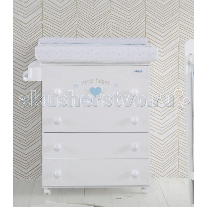Детская мебель , Комоды Micuna Angie пеленальный (4 ящика) B-970 арт: 295390 -  Комоды