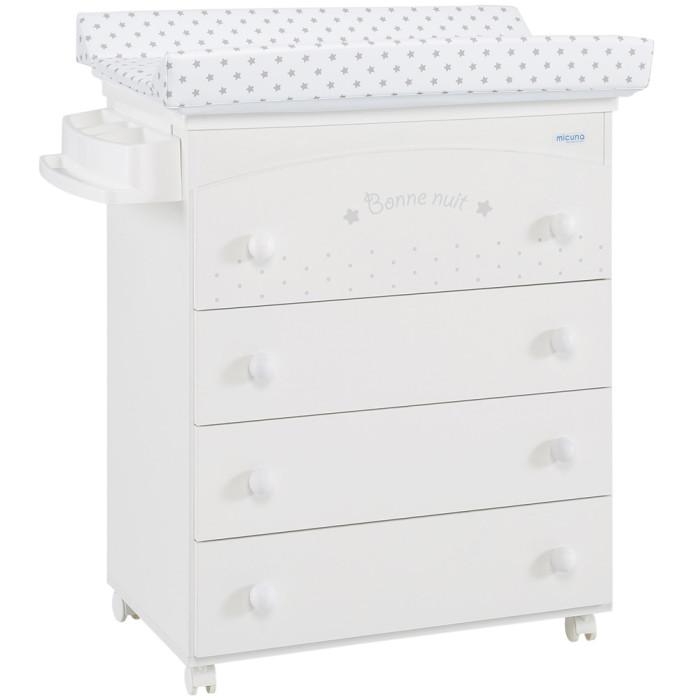 Детская мебель , Комоды Micuna Bonne Nuit пеленальный (4 ящика) арт: 295456 -  Комоды