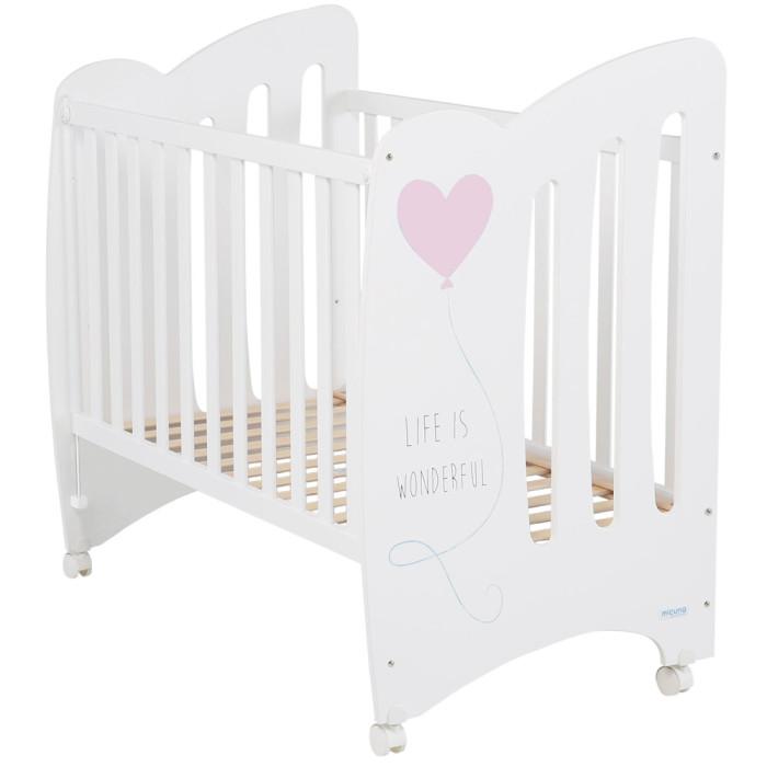 Купить Детские кроватки, Детская кроватка Micuna Wonderful 120x60 см