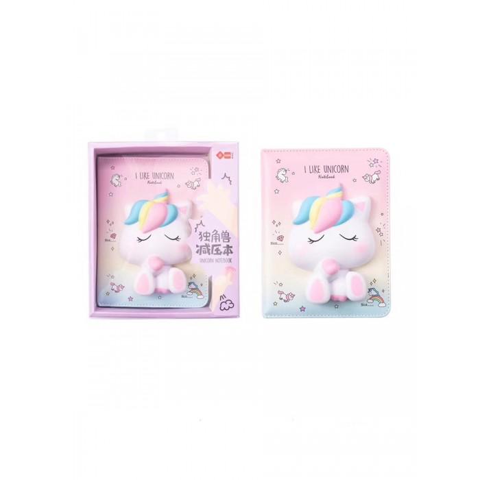 Купить Канцелярия, Mihi Mihi Блокнот со сквишем Единорог I Like Unicorn А5