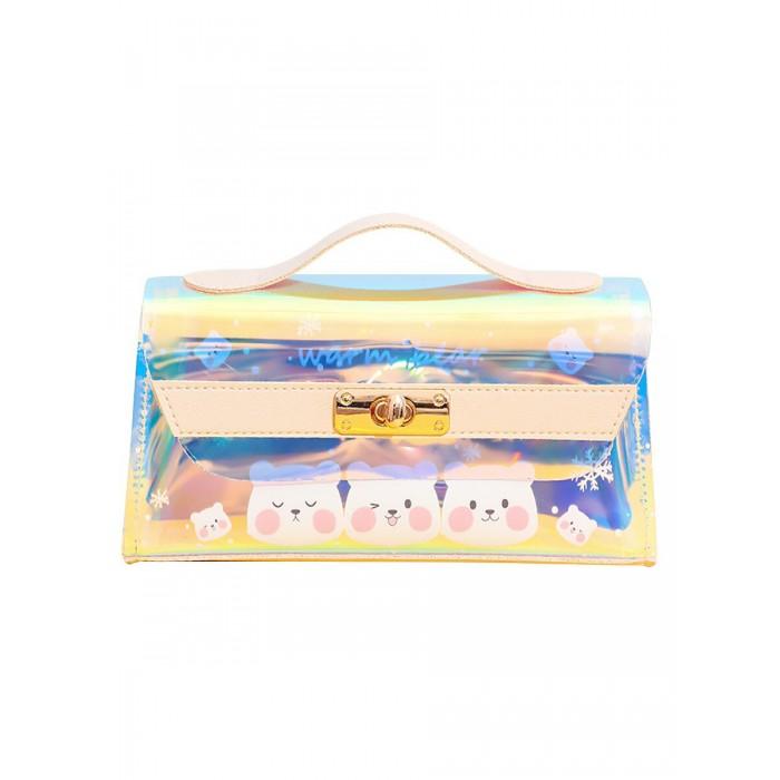 Mihi Mihi Набор сумочка c косметичкой Динозаврки
