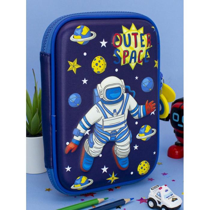 Картинка для Пеналы Mihi Mihi Пенал школьный 3D большой Космонавт