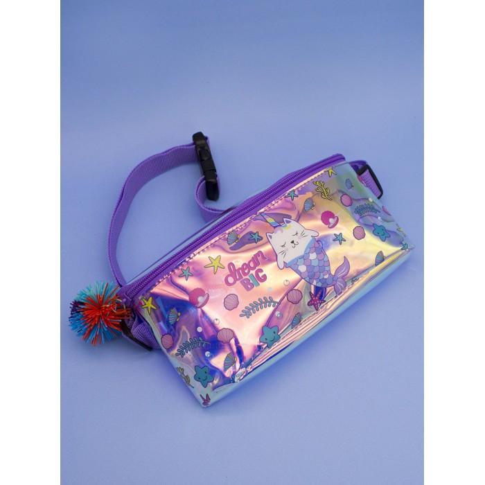 Картинка для Сумки для детей Mihi Mihi Поясная сумочка с помпоном Caticorn