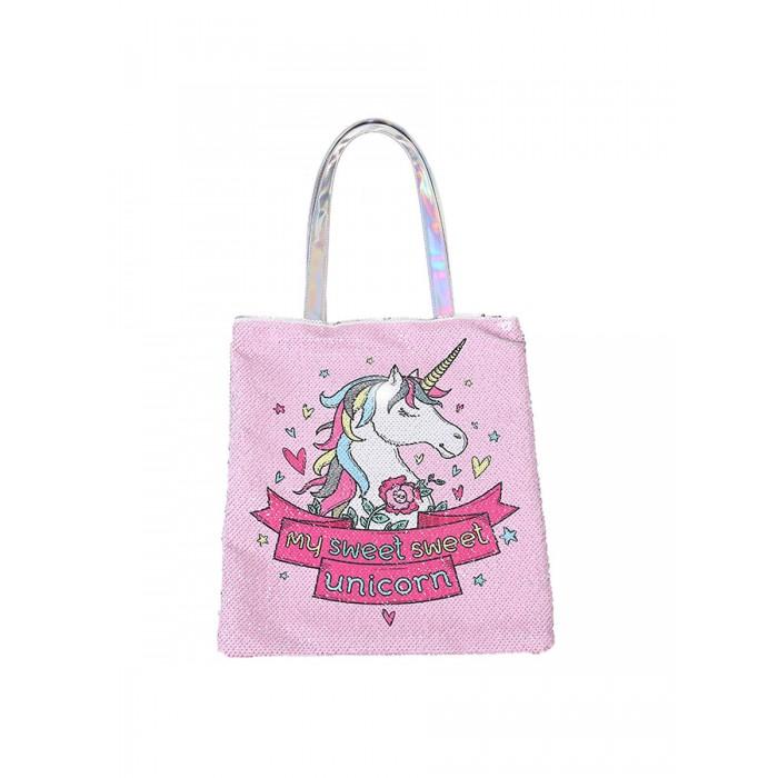 Купить Сумки для детей, Mihi Mihi Сумка на плечо с пайетками Единорог My sweet sweet Unicorn
