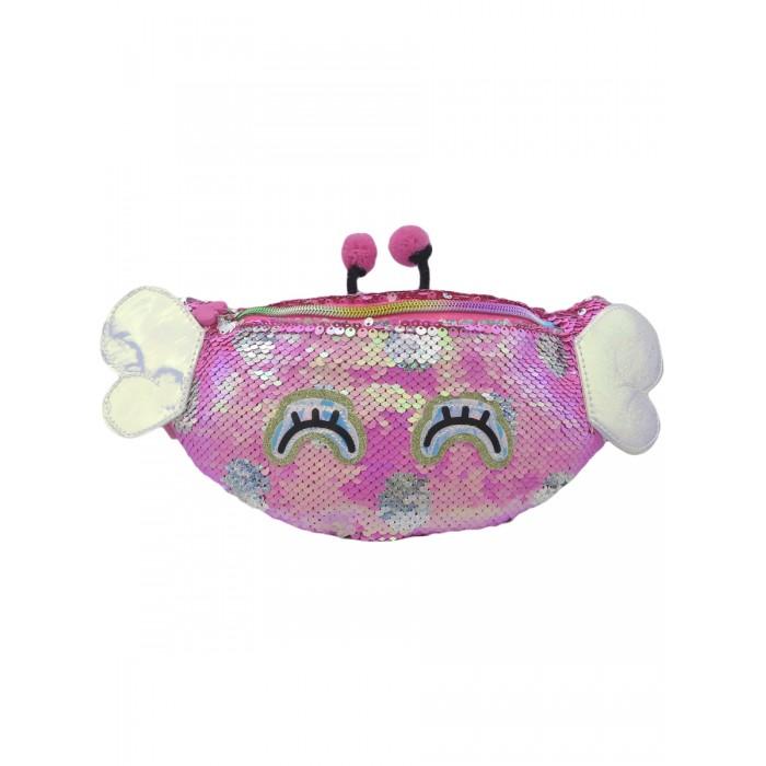 Купить Сумки для детей, Mihi Mihi Сумочка поясная с пайетками Bright Dreams Бабочка
