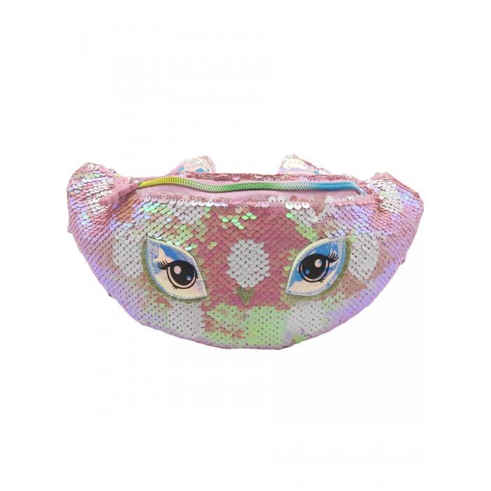 Купить Сумки для детей, Mihi Mihi Сумочка поясная с пайетками Bright Dreams Сова