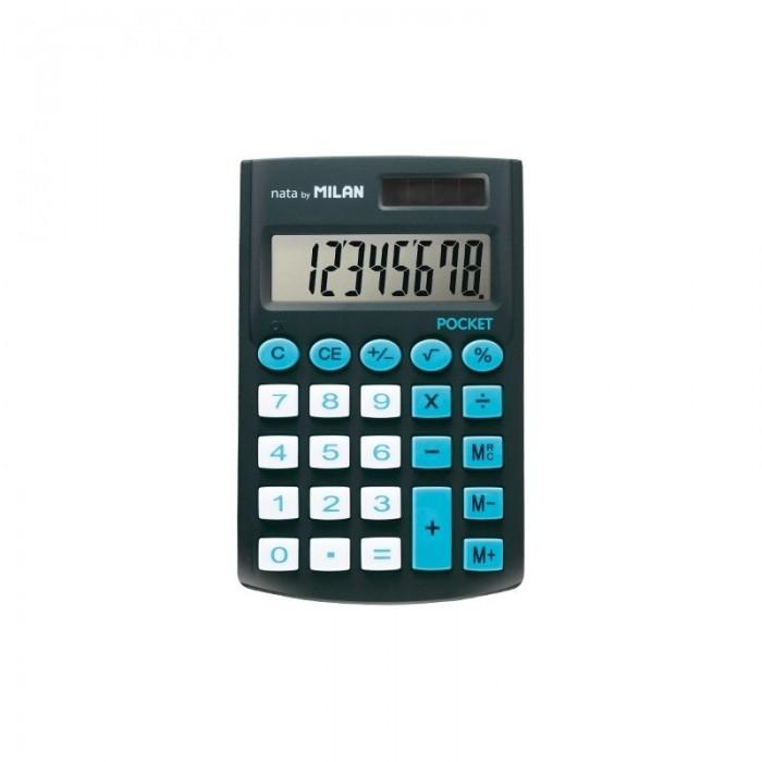 Milan Калькулятор карманный 8 разрядов двойное питание 907х620х80 мм