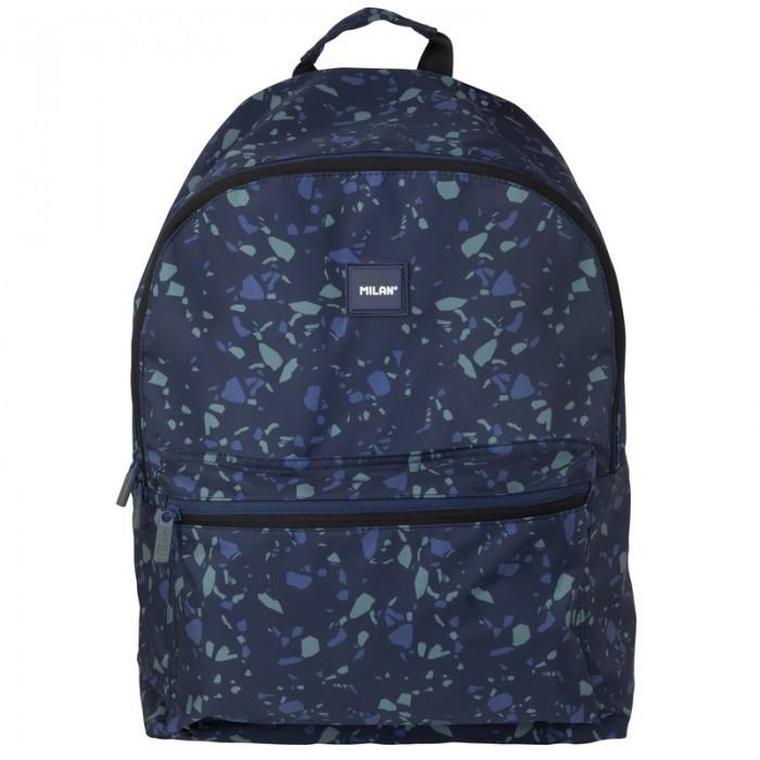 Сумки для детей Milan Рюкзак школьный Terrazzo 41х30х18 см рюкзак школьный beifa 38х30х16 см сине зеленый