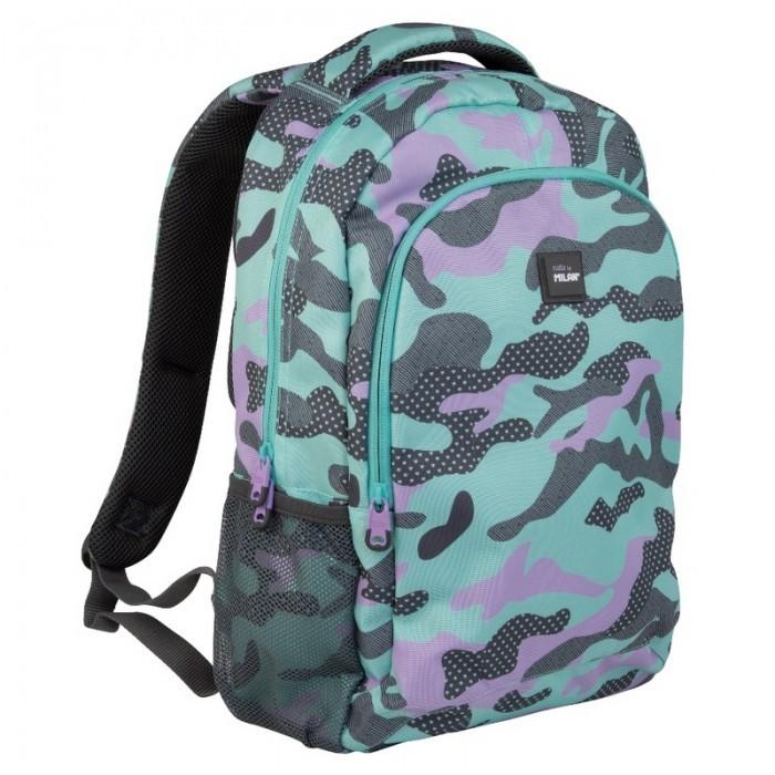 Сумки для детей Milan Рюкзак школьный Camouflage 41х30х12 см 624601GM рюкзак школьный beifa 38х30х16 см сине зеленый