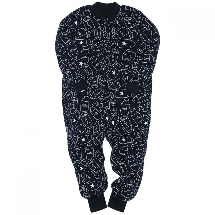 Купить Домашняя одежда, Milimbi Комбинезон с открытыми ножками Milk Bottie