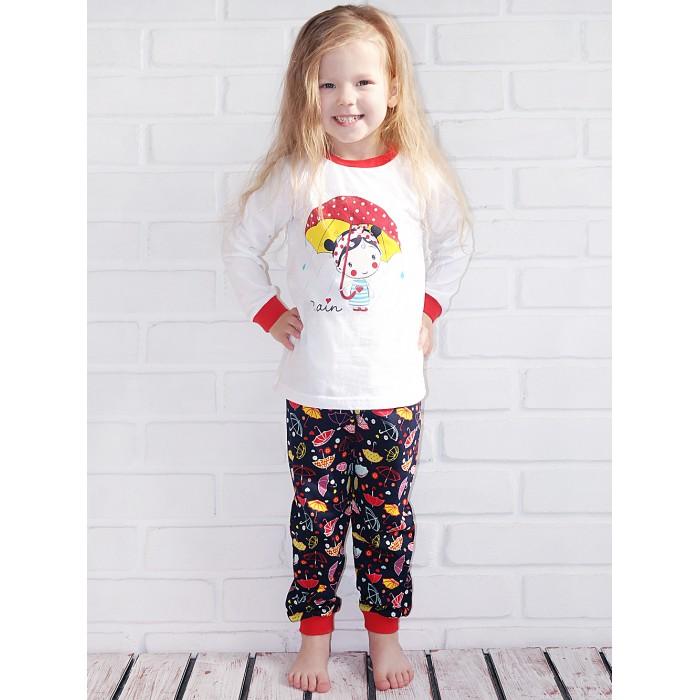 Купить Домашняя одежда, Milimbi Пижама детская Зонты ПЖ-01-10-01