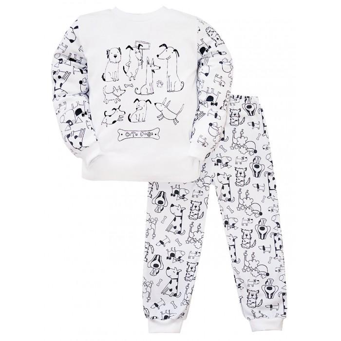 домашняя одежда n o a пижама для мальчика 11432 Домашняя одежда Milimbi Пижама для мальчика Чудесные псы