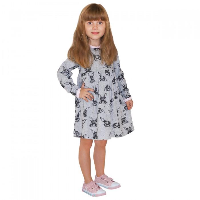 Платья и сарафаны Milimbi Платье для девочки Серый заяц 0150/СЗ