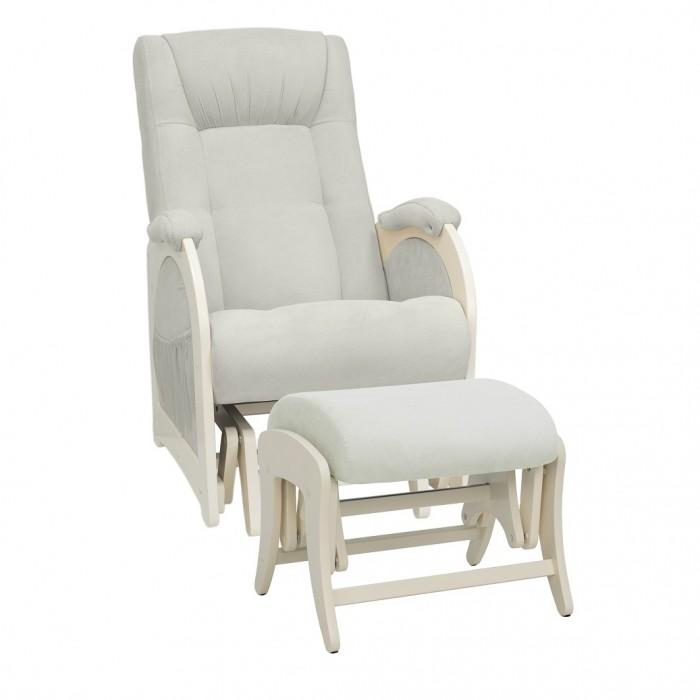 Купить Кресла для мамы, Кресло для мамы Milli Joy с пуфом Uni Дуб шампань