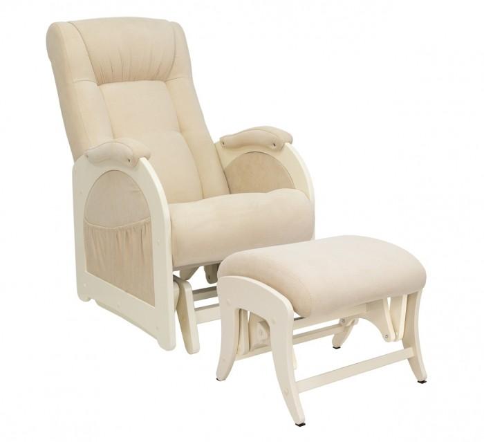Картинка для Кресла для мамы Milli Joy с пуфом Uni Дуб шампань