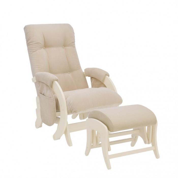 Купить Кресла для мамы, Кресло для мамы Milli с карманами Smile с пуфом Uni Дуб шампань