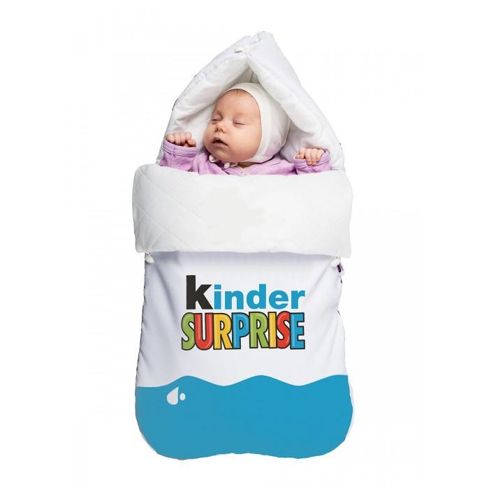 Купить Конверты для новорожденных, МиМиМи Демисезонный конверт Летний Киндер Сюрприз 40x75 см