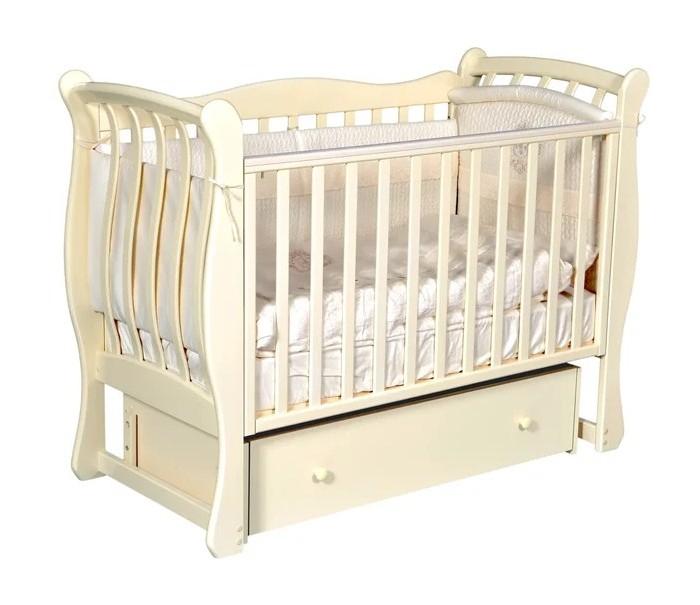 цена на Детские кроватки Антел Luiza 3 автостенка универсальный маятник