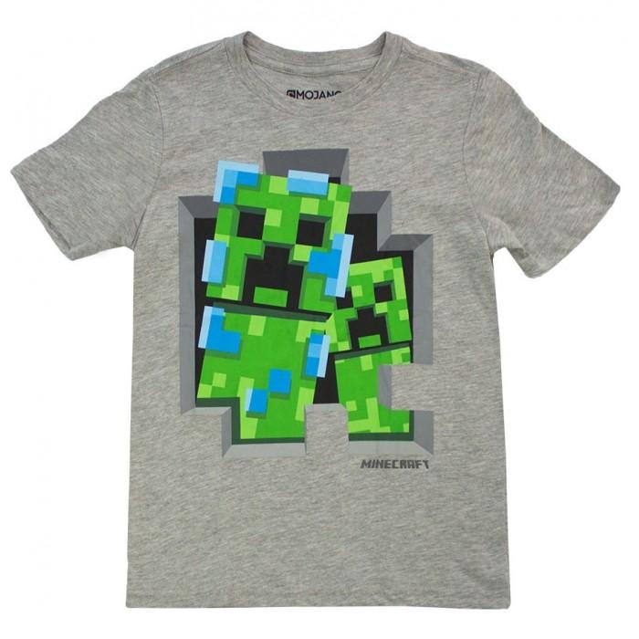 Футболки и топы Minecraft Футболка Charged Creeper