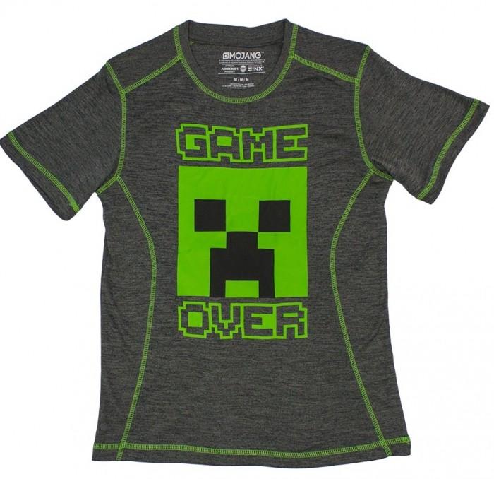 Футболки и топы Minecraft Футболка Game Over