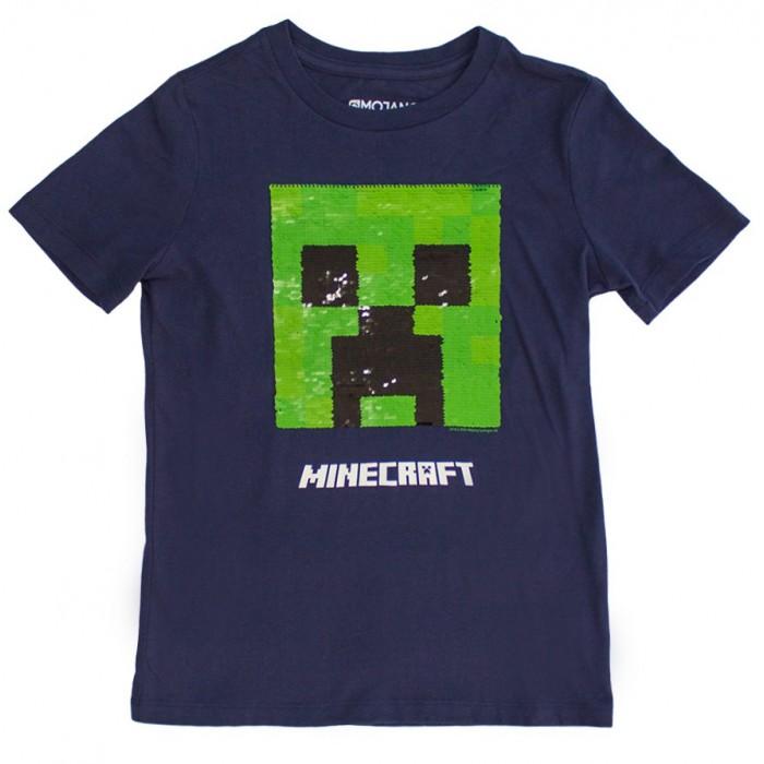 Футболки и топы Minecraft Футболка с пайетками