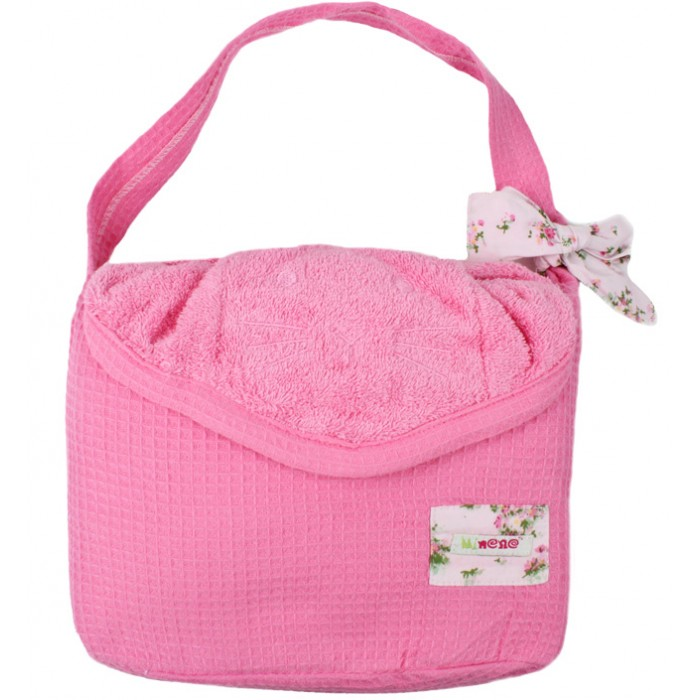 Купание малыша , Полотенца Minene Махровое полотенце с капюшоном Cuddly Towel 85x115 см арт: 370338 -  Полотенца