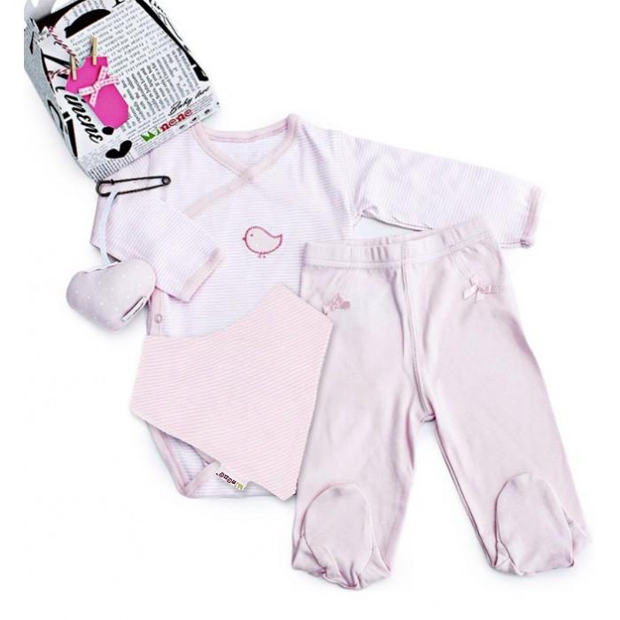 Комплекты детской одежды Minene Подарочный набор Маленький ларец Petit Case Gift (4 предмета) комплекты детской одежды mini world подарочный набор для девочки 5 предм��тов mw13908