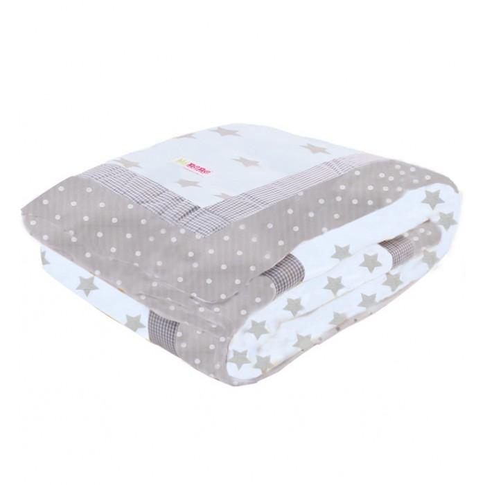 Пледы Minene Утепленный двусторонний Large Revesible Winter Quilt 85x115 см plaid print solid quilt