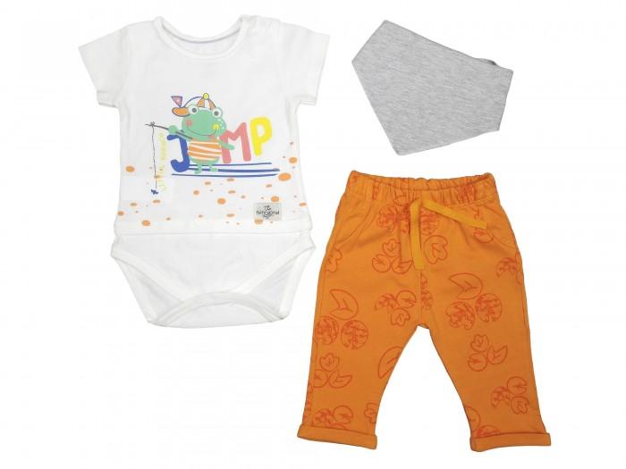 Комплекты детской одежды Mini World Комплект детский (боди, штанишки, нагрудник) MW14340 часы mini world mn1012a